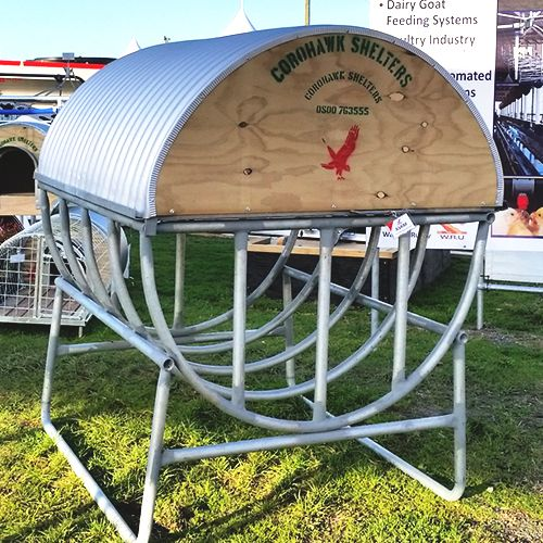 Round Bale Feeder - with Lid