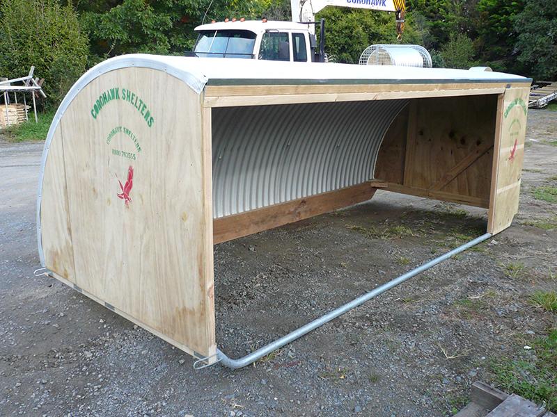 goat shelter - up to 20 goats - corohawk